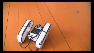 Шагающий робот своими руками