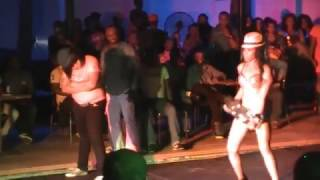 NIGERIAN DANCE QUEEN KAFFY AND HER SISTER ON STAGE