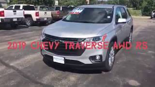Kriegers Video Library: Walk Around 2019 Chevy Traverse AWD RS