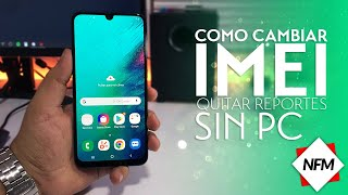 Como Quitar Reporte o Cambiar IMEI de tu dispositivo movil 2017 FACIL | change imei on any android