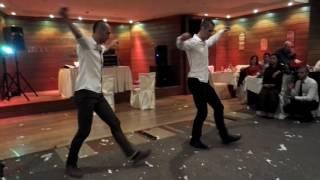 Greek Dance at Bulgarian Wedding