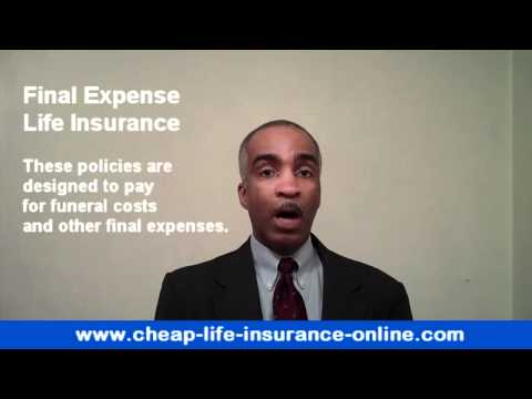 Final Expenses Insurance 1 of 3