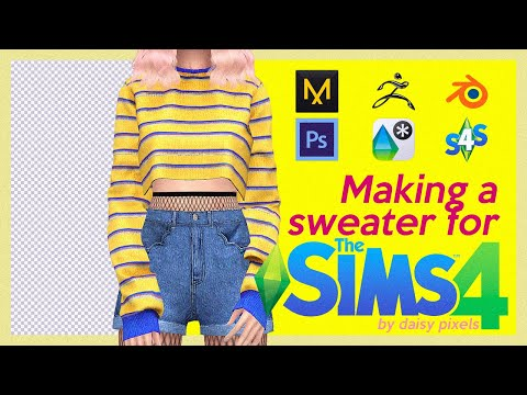 Making A Sweater For The Sims 4
