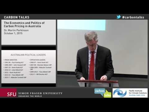 The Economics and Politics of Carbon Pricing in Australia