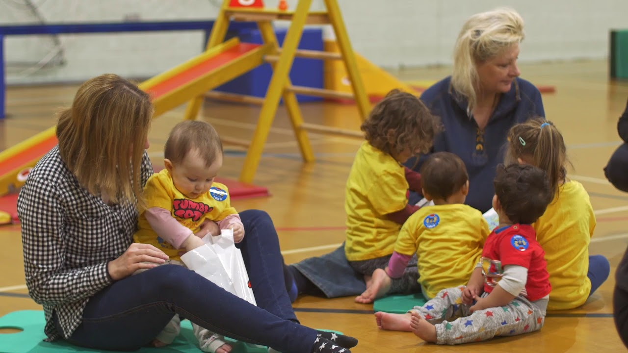 Tumble Tots Fun Adventures - Sing-A-Long to Warm Up Time