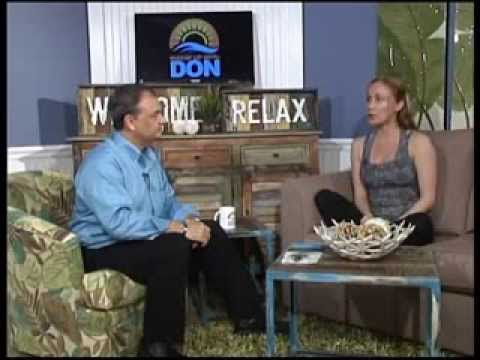 Yoga and Panama City Beach Library on Wakin' Up With Don Arias