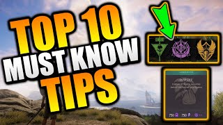 Top 10 MUST KΝOW Beginner Tips in New World MMO - New World Tips & Tricks - New World Beginner Tips!