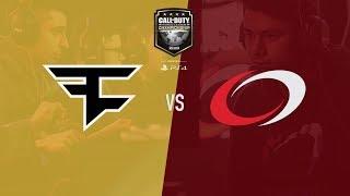 FaZe Clan vs Complexity | CWL Champs 2018 | Day 1