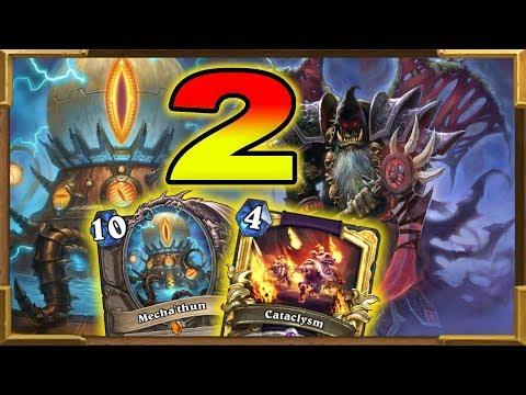 Hearthstone: Mecha'Thun Warlock Part 2  | Tier 1 Deck | 100% Fun | Rise of Shadows New Decks | Wild