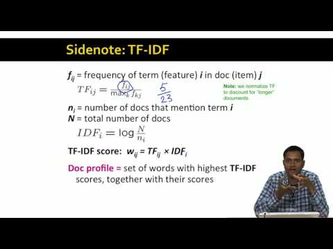 Lecture 42 — Content Based Recommendations | Stanford University