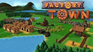 建造原始的自动化小镇 | Factory Town #1