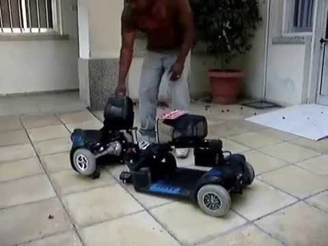 GC Paraquip Cyprus. Disability Equipment. Mobility Collapsible Scooters