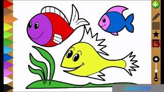 Learn Colors - Belajar Sambil Bermain Mengenal Warna Dan Mewarnai
