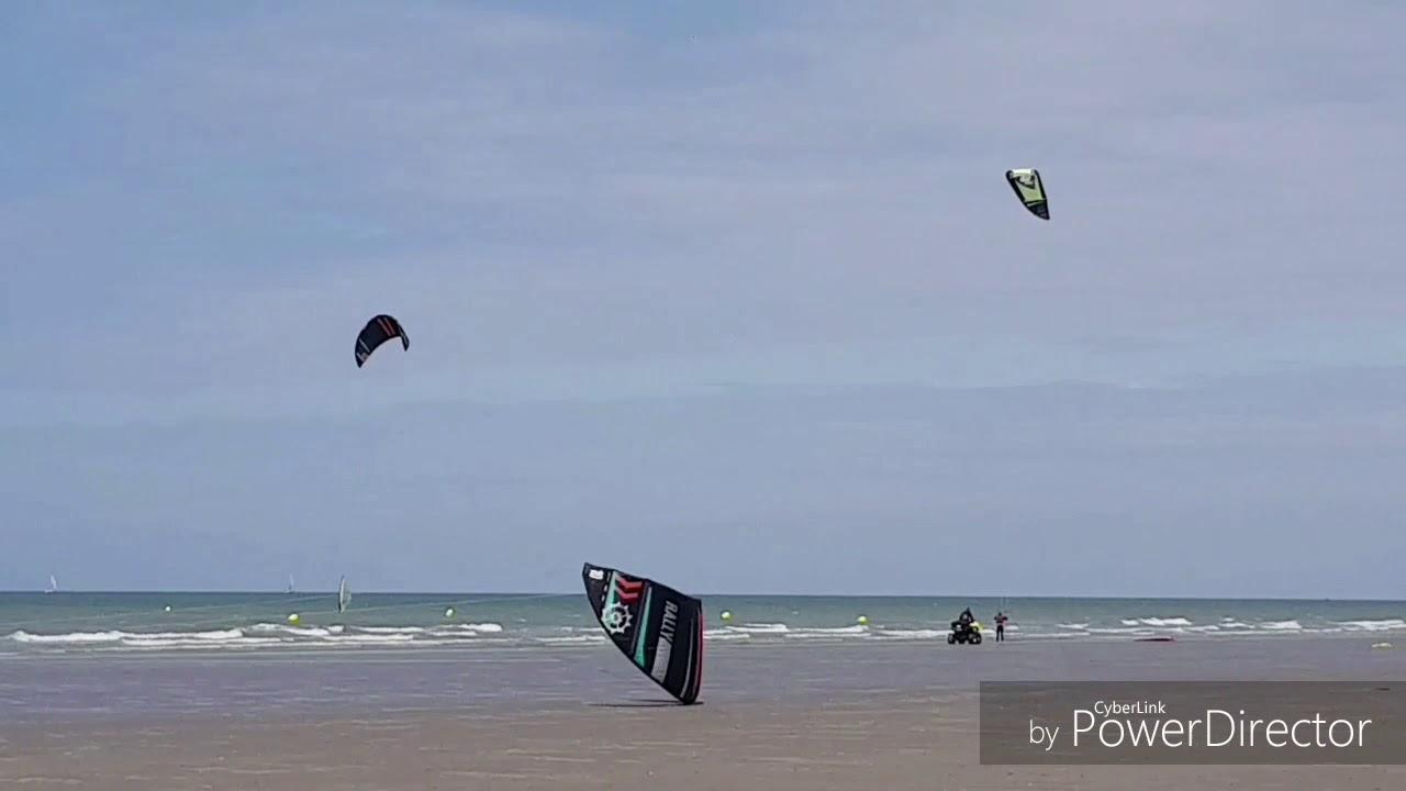 Dunkerque Malo Les Bains Station Voile Et Char A Voile Avec Les Dunes De Flandre Youtube
