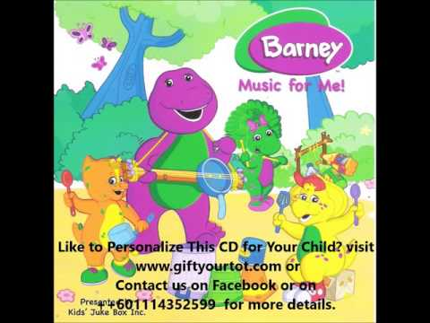 Barney Music-Fun Personalised Gifts