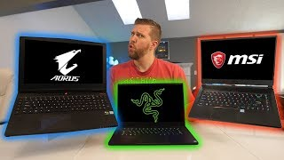 Razer Blade 15 vs GS65 vs Aorus X5 - What Gaming Laptop to Buy?
