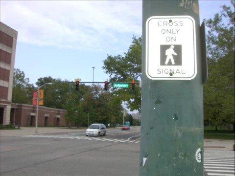 Audible Traffic Signals