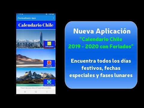Calendario Chile 2020.Calendario 2019 2020 Chile Con Feriados Apps En Google Play