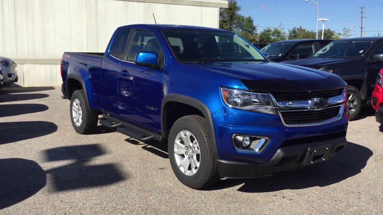 2018 Chevrolet Colorado 4WD LT Kinetic Blue Metallic Roy ...