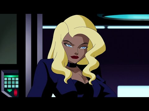 Black Canary - All Fight Scenes | Justice League Unlimited
