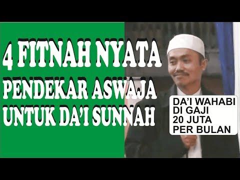 Menjawab 4 Tuduhan Fitnah Pendekar ASWAJA - Ustadz Dzulqarnain Muhammad Sunusi