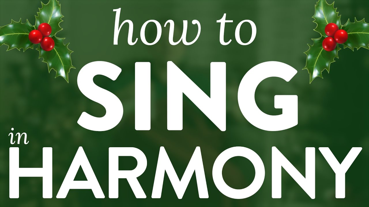 """How To Sing Harmony"" - Ep. 35 Quick Singing Tips Cover"
