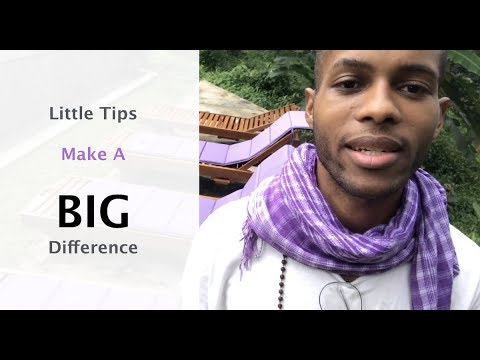 Little Tips - Make A Big Difference when Starting Your Juice Bar
