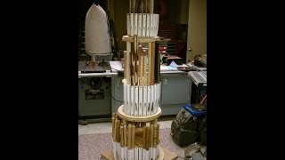 The Twisting Tower Of Turning - Wood Lathe Tool Storage Rack