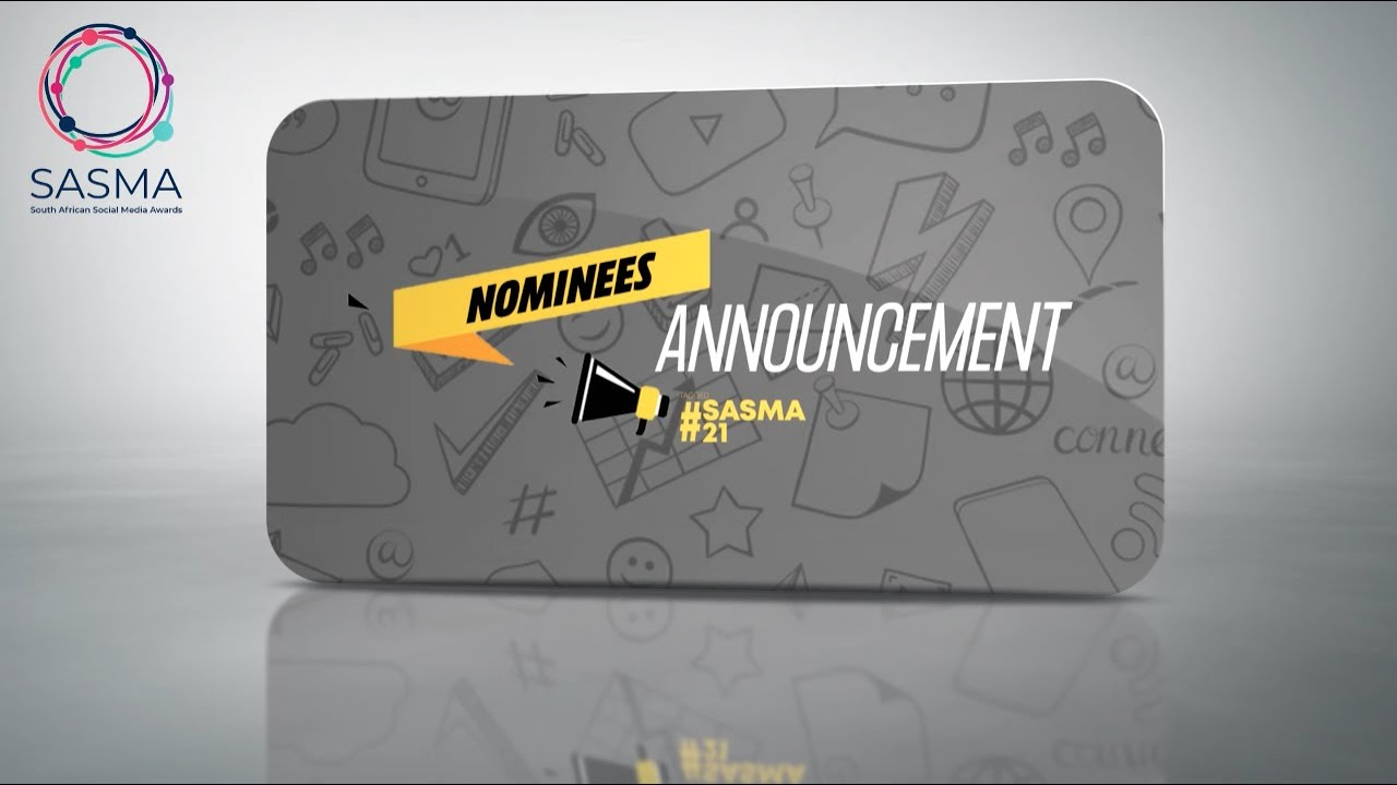 Download The South African Social Media Awards 2021 Nominee Announcement | Mbono Media House