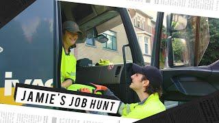 Jamie's Job Hunt (7): afval ophalen met Jasper Publie