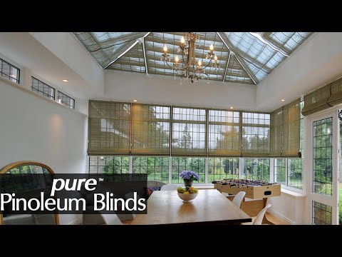 Bespoke Pinoleum Blinds for Conservatories and Orangeries