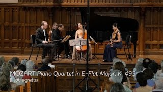 MOZART Piano Quartet in E-flat major, K.493 (mvt III) - ChamberFest Cleveland