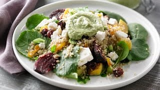 Quinoa, Roasted Beet And Dried Fruit Salad | Anyday Magic