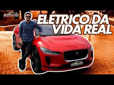 ELÉTRICO DE 400 CV! GC PASSA DE 200 KM/H COM O JAGUAR I-PACE NA PISTA - ESPECIAL #196 | ACELERADOS