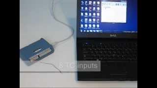 How to Measure a Thermocouple using the USB-TC DAQ device screenshot 5