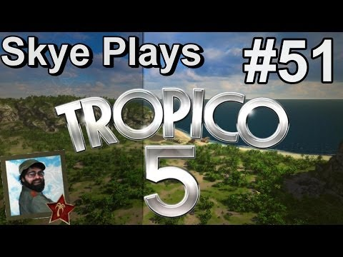 Tropico 5 Gameplay: Part 51 ► Import / Export Opportunties ◀Campaign Walkthrough and Tips [PC]