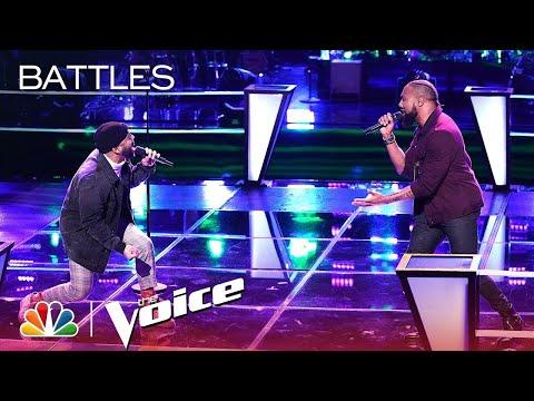 """The Voice 2019 Battles - Julian King vs. Denton Arnell: """"Grenade"""""""