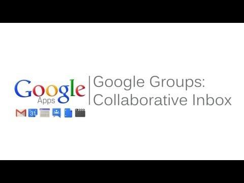 Google Groups Collaborative Inbox