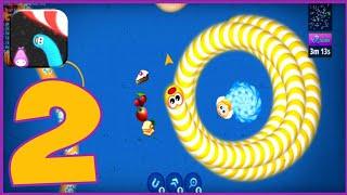 Zona Cacing.io - Ulang Rakus - Gameplay Walkthrough Part 2 - Tutorial ( iOS, Android) OGameplay screenshot 5