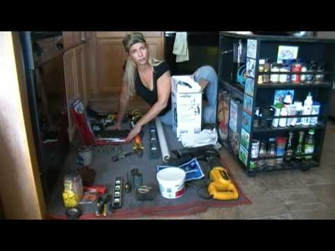 Part 1 How To Install Garbage Disposer For The