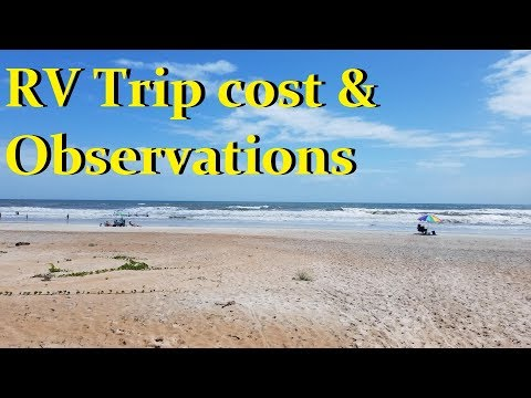 Our 2 week RV Trip🌞 lessons and cost💰💵