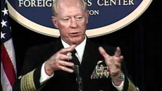 """Admiral Willard Briefs on """"Asia-Pacific U.S. Military Overview"""""""