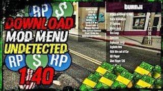 GTA V ONLINE PC 1.40 Mod ~ Menu Money & RP Hack UNDETECTED