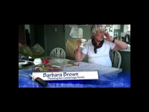 Barb Brown - Planning her Cambridge Home