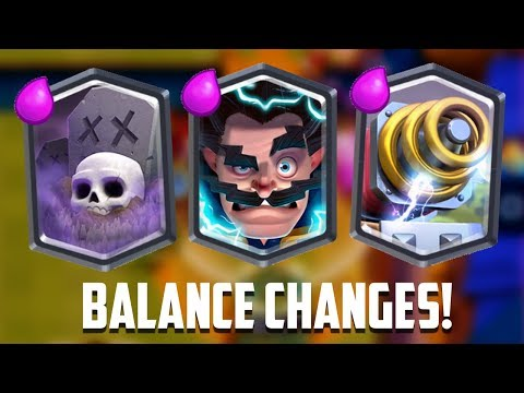 Clash Royale – SPARKY BUFF! New Balance Update