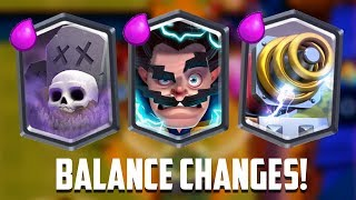 Clash Royale - SPARKY BUFF! New Balance Update