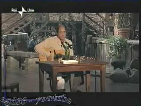 Adriano Celentano il Ragazzo della via Gluck dal vivo