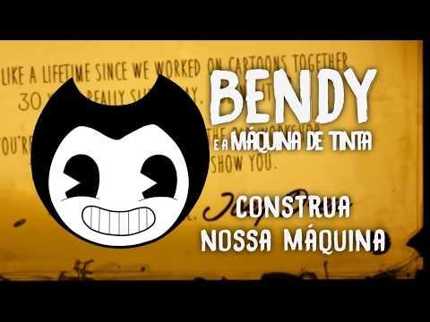 BENDY AND THE INK MACHINE SONG - Build Our Machine [em Português] (DAGames Tribute)