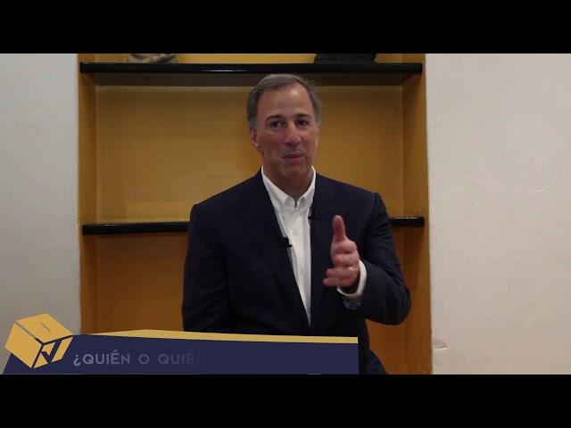 José Antonio Meade: Candidato a la Presidencia de la República - Voto Informado 2018