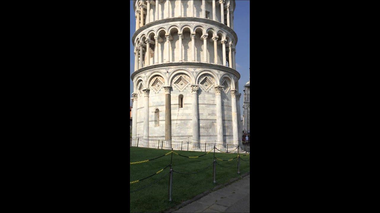 Huy Trực – tháp nghiêng Pisa – Italia